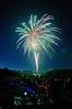2013 4th of July fireworks in Nara Park, Acton, MA