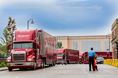 20130726 Budweiser Clydesdales - Rosemont