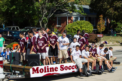 Moline High School Homecoming Parade