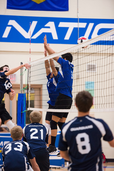 Fr. Lacombe Lasers Sr. Boys Volleyball