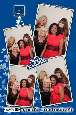 Christmas photo booth