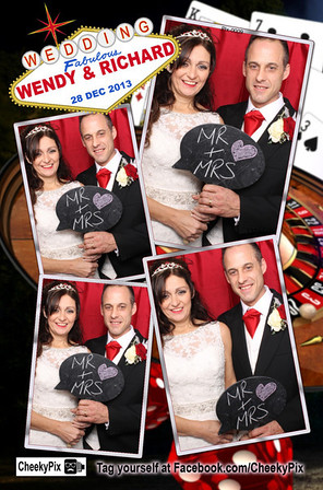 Wendy & Richard's photo booth