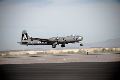"The World's Only flying ""B-29"" Superfortress"