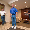Granite Properties corporate office is transformed into a putt-putt course for their charity event Putt For A Purpose benefitting Children's Medical Center Thursday, April 17, 2014 in Plano, Texas.