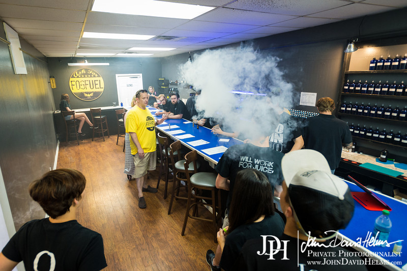 "June 21, 2014 - One Year Vaperversary at Vapor Craft, Columbus, GA.  Photos by Katie Giddens Parker and John David Helms.  <a href=""http://www.facebook.com/johntookmypicture"">http://www.facebook.com/johntookmypicture</a>"