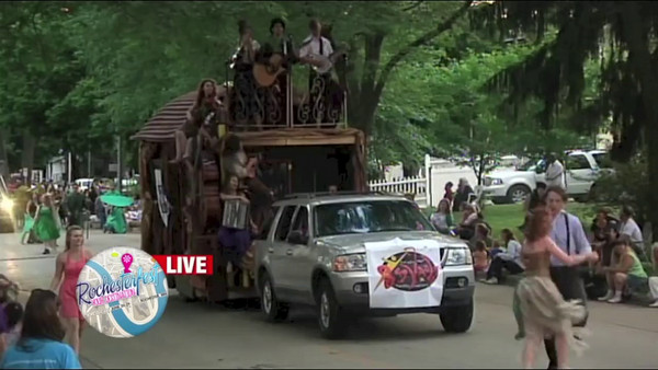 2014-06-27 Rochesterfest Parade on KTTC