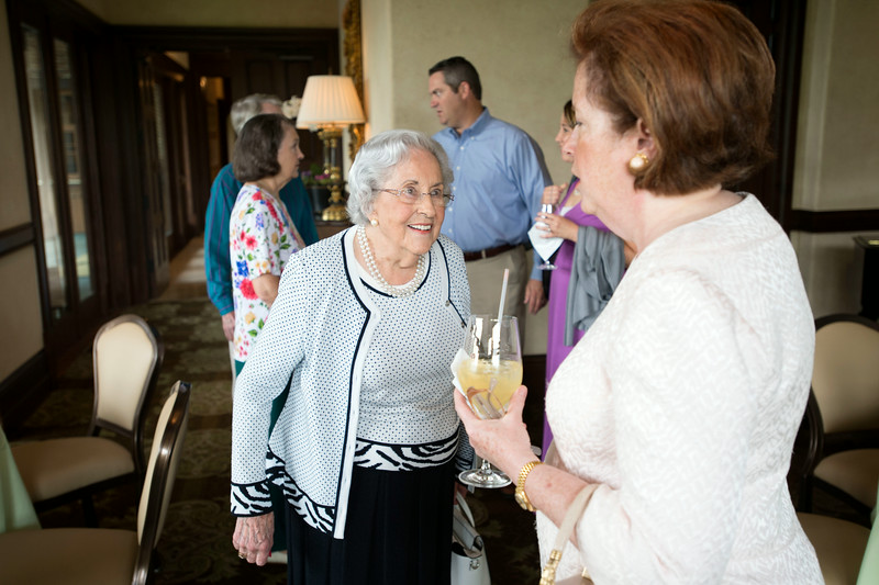 Family and friends of Betty C. Lewis celebrate her 90th birthday with a lunch at Dallas Country Club on Saturday, July 5, 2014 in Highland Park, Dallas.