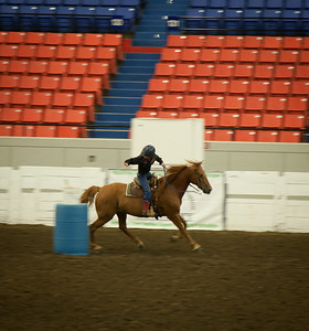 2014 4H Flag and Pole Race Pony and Class I
