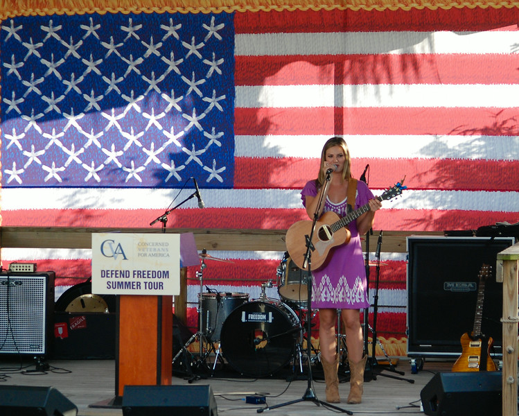 Singer Ayla Brown, American Idol finalist and daughter of Senator Scott Brown of Mass.