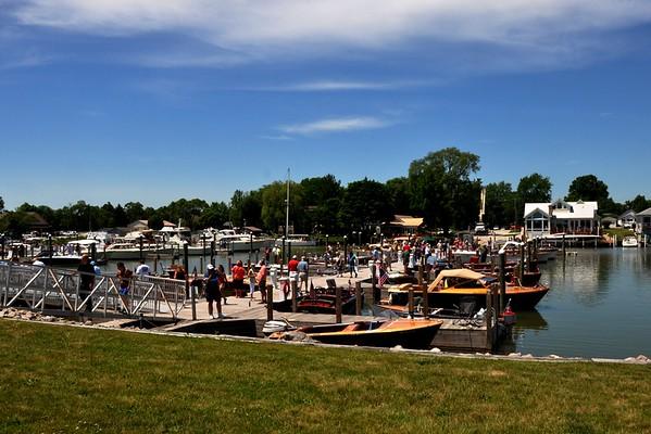 2014 Classic Antique Boats Event, St. Clair, MI
