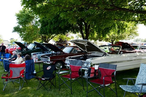 2014 Classic Car Event in Palmer Park, St. Clair, MI.