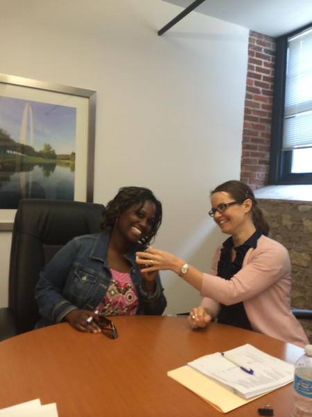 LaToya closes on her new home!