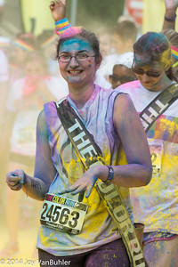 2014 Color Run in Ypsilanti