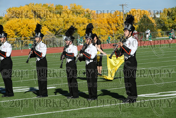 2014 District Marching Band Competition