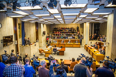 Mayor Marty Walsh gives his first address to the Boston City Council on Inauguration Day