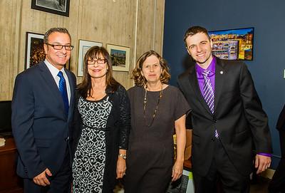 Councilor Sal LaMattina and Staff Members, Kathy, Janet and Michael
