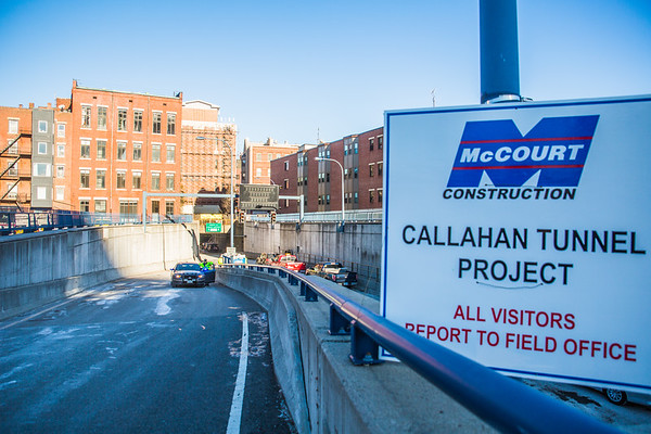 Callahan Tunnel Project Ramp