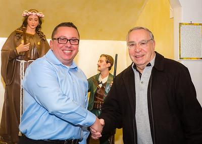 New Vice President Guy Zanelli and Sr. Member Frank Longo of Santa Rosalia di Palermo Society