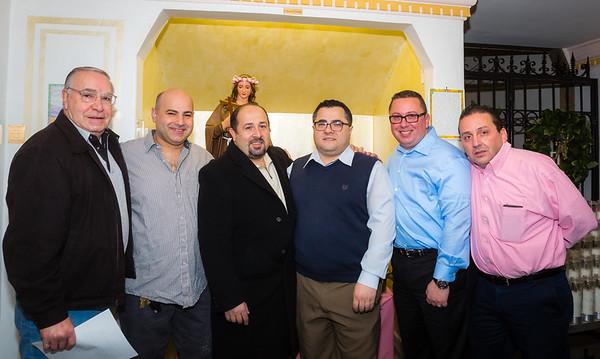 2014 Officers and Trustees of Santa Rosalia di Palermo Society
