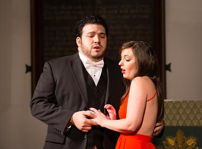 """Jacqueline Atti, Soprano & Salvatore Atti, Tenor perform """"Nanetta & Fenton Duet"""" from Falstaff"""