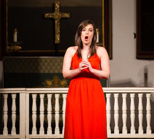 """Jacquelyn Atti, Soprano performs """"Caro nome"""" from Rigoletto"""