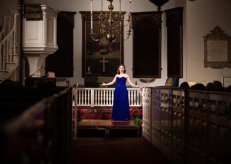 """Rebecca Rapoport-Cole, Mezzo-Soprano, performs """"una voce paco fa"""" from The Barber of Seville"""
