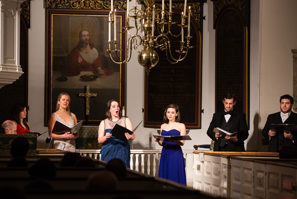 NEMPAC opera singers perform at the Old North Church at the 3rd Annual AMORE Opera Concert