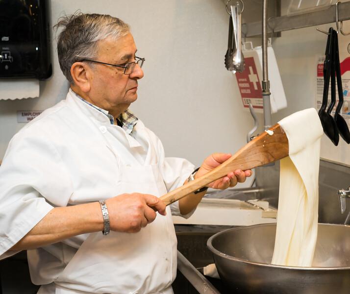 Making Fresh Mozzerella