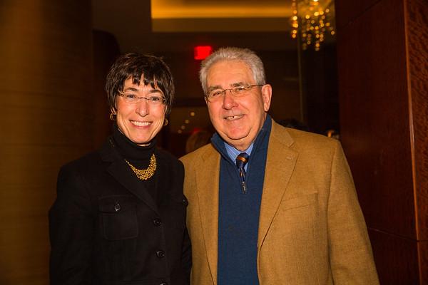 Merita Hopkins and Jim Ring at the Old North Gala
