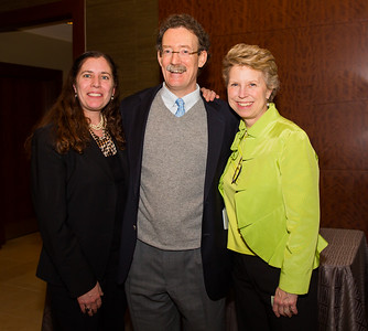 Freedom Trail Foundation Executive Director Suzanne Taylor with Rev. Steve and Lisa Ayres