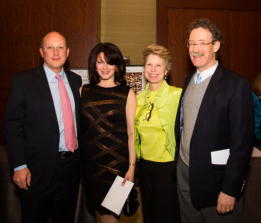 Robert and Catherine Matthews join with Lisa and Rev. Steve Ayers at the Old North Gala