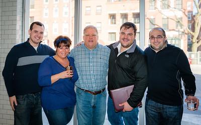 (L-R) Blake, Sandra, Mike, Philip and Matthew