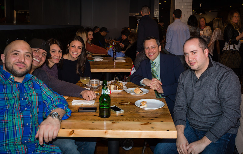 (L-R) Joe, Michael, Cara, Maria, Aaron and Gennaro