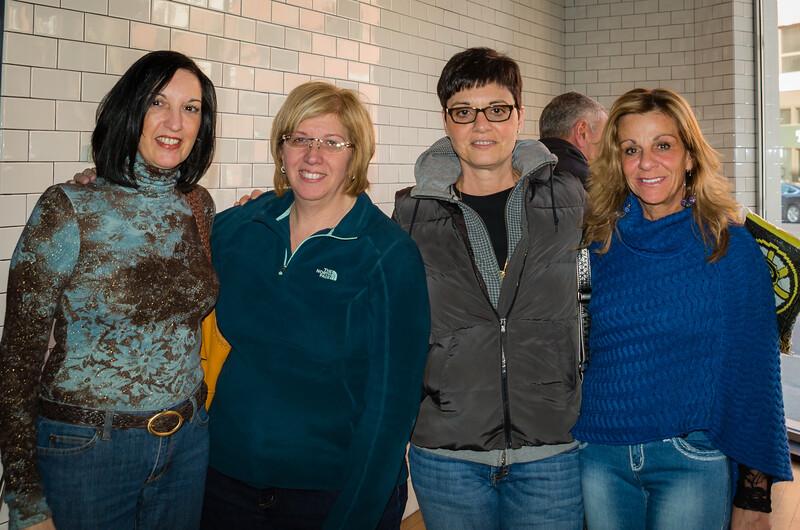 (L-R) Christine, Chrissy, Berna and Emily