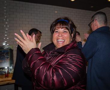 Sandra, Tootsie, Raffle Winner