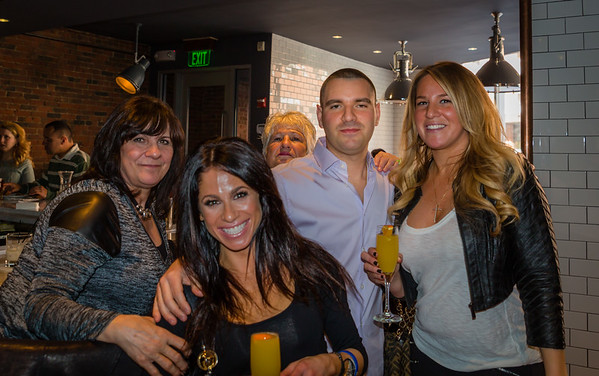 Jessica, Jahna, Patty, Matthew and Laura in back