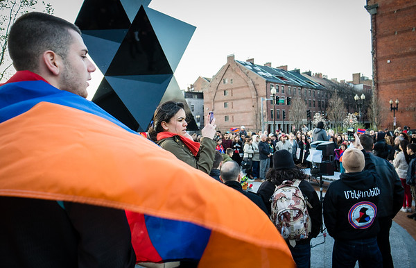 Armenian Genocide Commemoration Vigil 2014