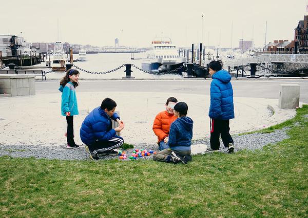 2014-04 | Easter Egg Hunt at Christopher Columbus Park