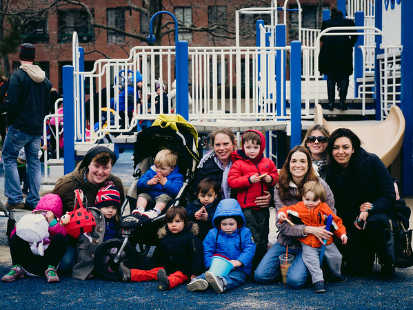 Group photo at the Egg Hunt