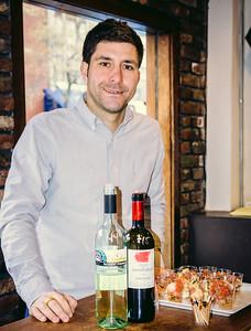 Matt at The Wine Bottega