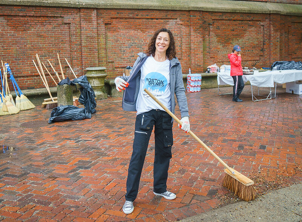 NECC VP Toni Gilardi sweeping the Prado