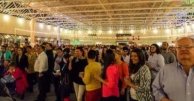 The largest crowd ever at the 2014 Taste of the North End