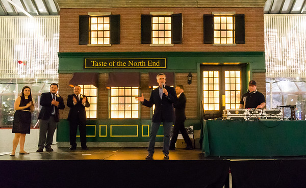 Host of TV Diner, Billy Costa, revs up the crowd at 2014 TONE