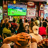 USA vs Portugal in World Cup - June 2014 at Caffe Dello Sport
