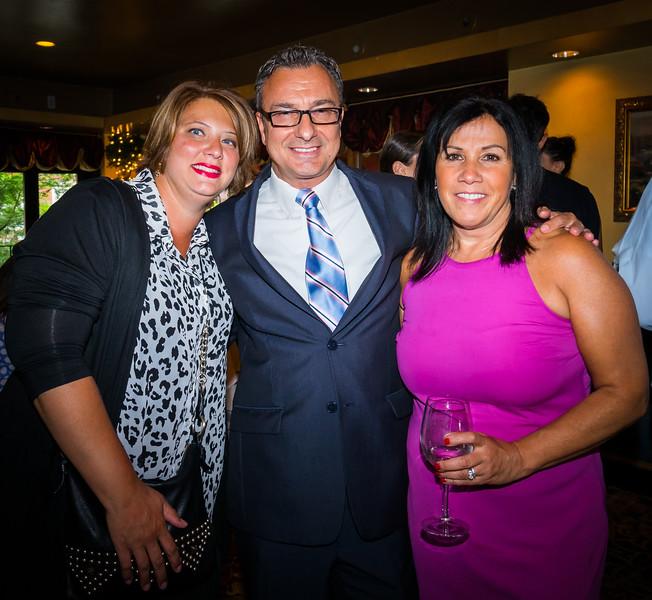 Lori Toscano, Sal and Lisa LaMattina