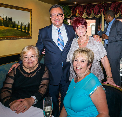 (L-R) Lucille Reed, Councilor Sal LaMattina, Peggy Cannata and Lucille Drago