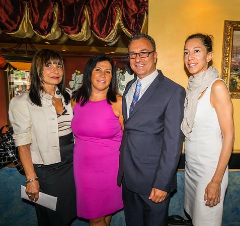 From the left, Kathy Carangelo, Lisa, LaMattina, Sal LaMattina and Toni Gilardi