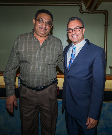 Ashish Patel and Councilor Sal LaMattina