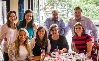Frattaroli and gang celebrate at Ducali for the 5th Anniversary