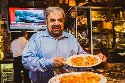 Filippo shares dinner